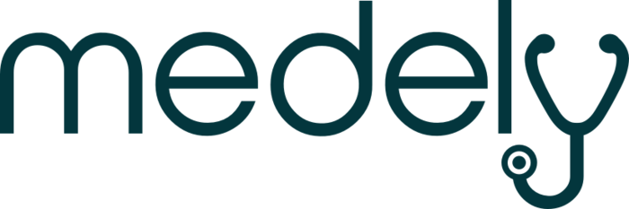 Medel Logo Blue Gray 2x
